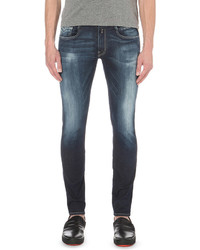 Replay Anbass Hyperflex Slim Fit Skinny Jeans