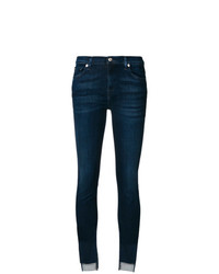 7 For All Mankind Asymmetric Cuff Jeans