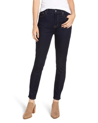 7 For All Mankind B High Waist Ankle Skinny Jeans