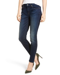 7 For All Mankind B High Waist Skinny Jeans
