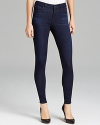 Big Star Jeans Ava Mid Rise Skinny In Harmony Dark