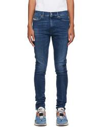Diesel Blue D Istort Jeans