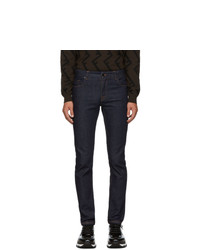 Fendi Blue Forever Skinny Fit Jeans