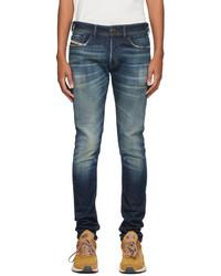 Diesel Blue Sleenker 09a27 Jeans
