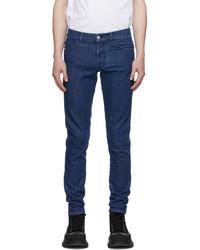 Marcelo Burlon County of Milan Blue Slim Cross Jeans