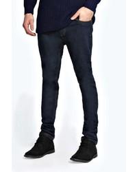 Boohoo Dark Indigo Wash Skinny Fit Jean