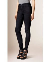 Burberry Skinny Fit High Rise Deep Indigo Jeans