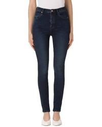 J Brand Carolina Super High Waist Skinny Jeans