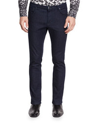 Versace Collection Slim Fit Dark Wash Skinny Jeans Ink