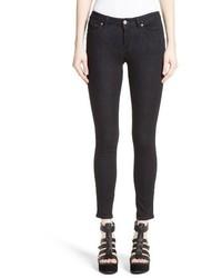 Versace Collection Studded Logo Pocket Skinny Jeans