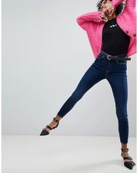 New Look Dahlia Super Skinny Rinse Blue Jean