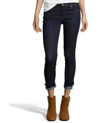 James Jeans Dark Blue Stretch Denim James Skinny Jeans