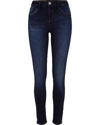 River Island Dark Rinse Amelie Superskinny Reform Jeans