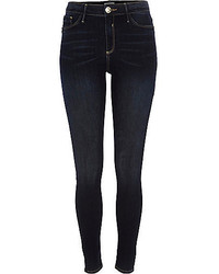 River Island Dark Vintage Wash Molly Jeggings