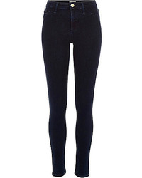 River Island Dark Wash Molly Reform Jeggings