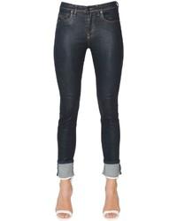 Diesel Black Gold Skinny Crop Super Stretch Denim Jeans