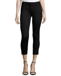 DL1961 Premium Denim Florence Skinny Cropped Jeans Hail