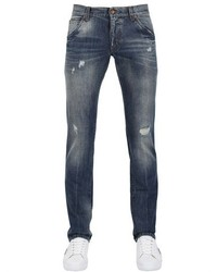 Dolce & Gabbana 18cm Gold Fit Distressed Denim Jeans