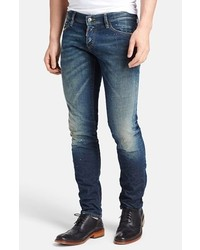 DSQUARED2 Skinny Fit Dirt Distressed Jeans