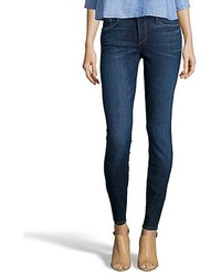 Earnest Sewn Mccoll Dark Blue Denim Esra Mid Rise Skinny Jeans