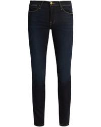 Frame Edgeware High Rise Skinny Jeans