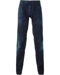 8786f09e Men's Navy Jeans by Emporio Armani   Men's Fashion   Lookastic.com