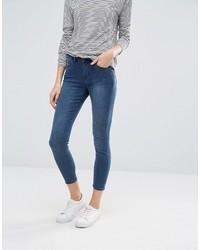Jack Wills Fernham Super Skinny Mid Rise Cropped Jeans