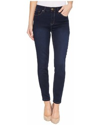 Tribal Five Pocket Ankle Jegging 28 Dream Jeans In Navy Blast Jeans