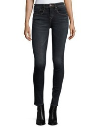 Vince Five Pocket Mid Rise Skinny Jeans