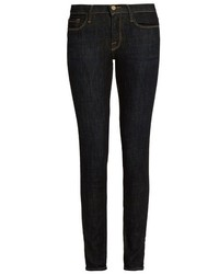 Frame Le Skinny De Jeanne Mid Rise Jeans