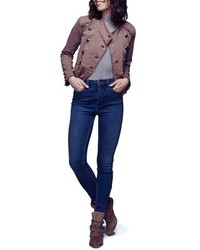Free People Cyndi High Rise Skinny Jeans