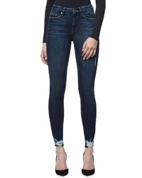 Good legs raw hem skinny jeans medium 4468745