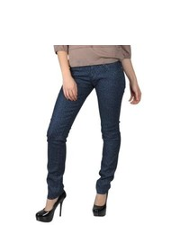 Hailey Jeans Co Juniors Print Stretch Skinny Jeans