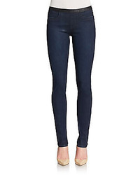 Helmut Lang Coated Faded Jeggings
