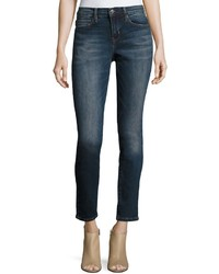 Nicole Miller High Rise Skinny Jeans Blue