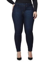 Good American High Waist Side Zip Skinny Jeans