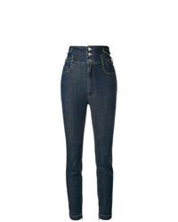 Dolce & Gabbana High Waisted Skinny Jeans