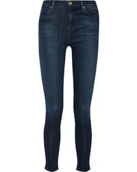 J Brand Maria High Rise Skinny Jeans Blue