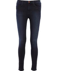 J Brand Maria Mid Rise Skinny Jeans