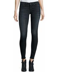 Rag & Bone Jean Classic Skinny Jeans Black R