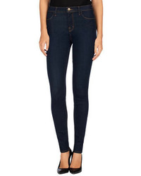 J Brand Jeans Maria High Rise Super Skinny Jeans After Dark