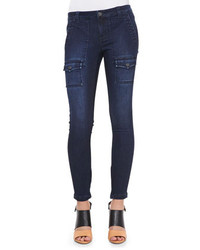 Joie So Real Cargo Pocket Skinny Jeans River