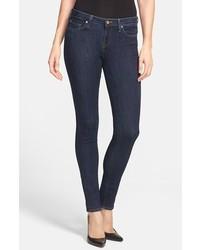 Joie Stretch Skinny Jeans Black Indigo Size 24 24