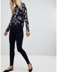 Pieces Klara Mid Rise Skinny Jeans