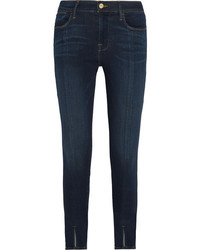 Frame Le High High Rise Skinny Jeans Blue