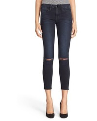 Frame Le High Skinny High Waist Crop Jeans