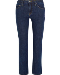 Frame Le Skinny De Jeanne Mid Rise Jeans Mid Denim