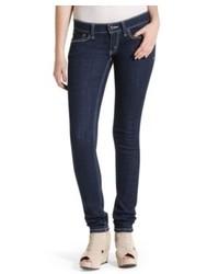 Levi's Juniors Jeans 524 Triple Needle Skinny Dark Wash