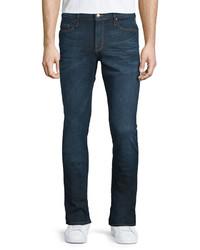 Frame Lhomme Sierra Skinny Denim Jeans Dark Blue