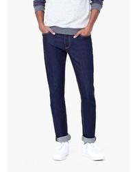 Mango Man Slim Fit Navy Tim Jeans